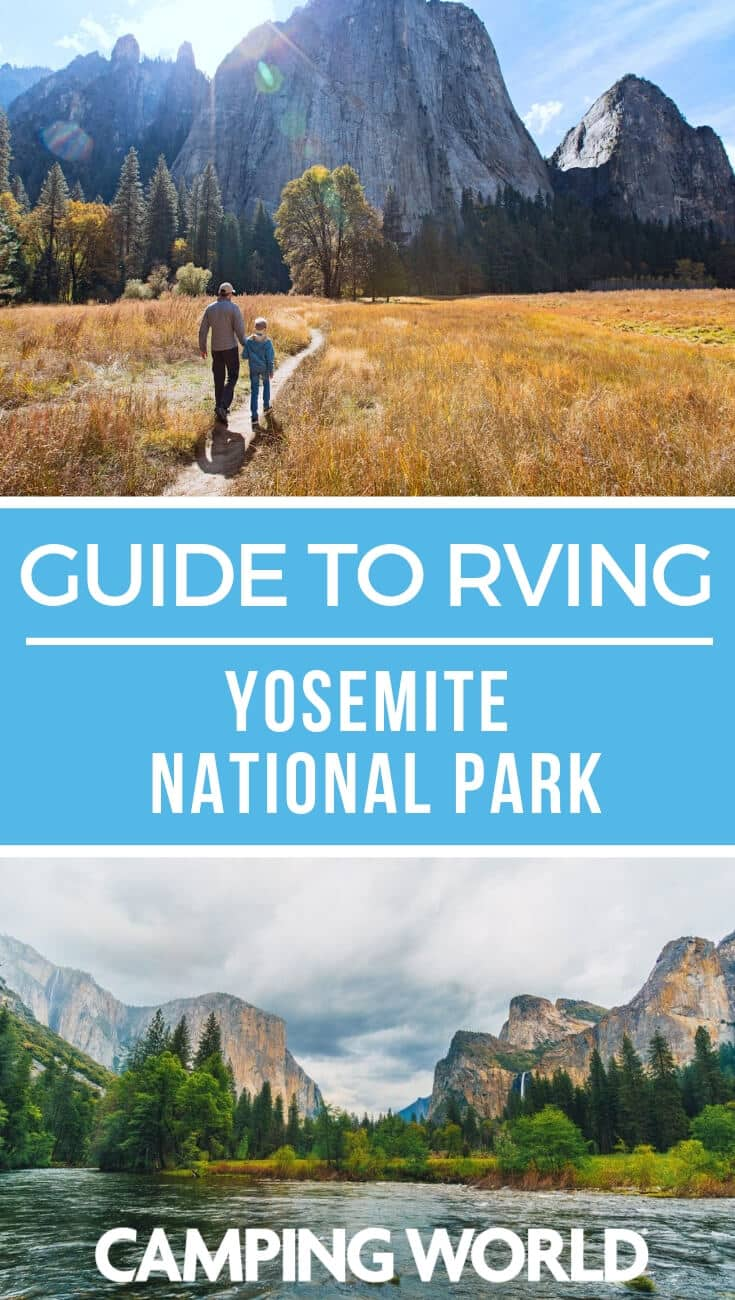 Camping World's guide to RVing Yosemite National Park