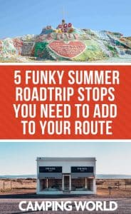 5 Funky summer roadtrip stops you need to add to your route