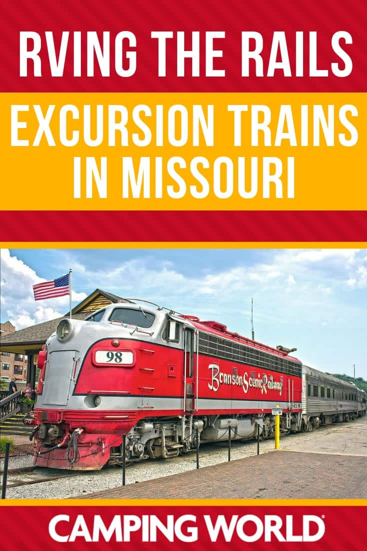 Excursion trains in Missouri