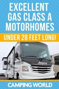Excellent Gas Class A motorhomes under 28 feet long