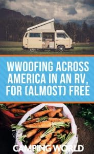 WWOOFing across america in an RV for almost free