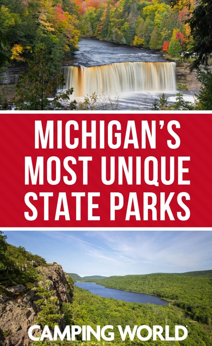 Michigan's most unique state parks