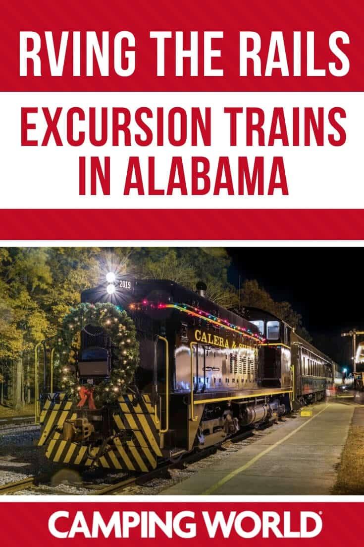 Excursion trains in Alabama