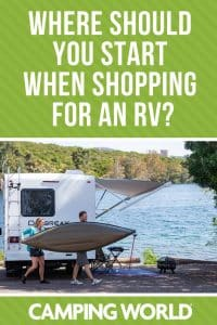 Where should you start when shopping for an RV?