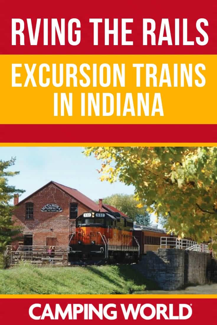 Excursion trains in Indiana