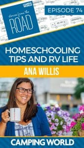SftR 74 - Homeschooling Tips and RV Life