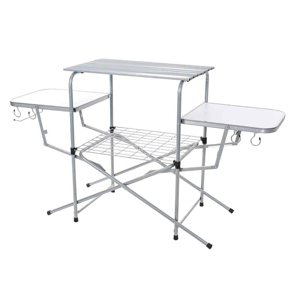 Folding Aluminum Grill Table