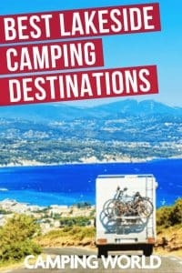 Best lakeside camping destination
