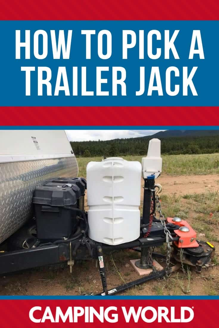 If you need a new trailer jack - here's how to pick the best one