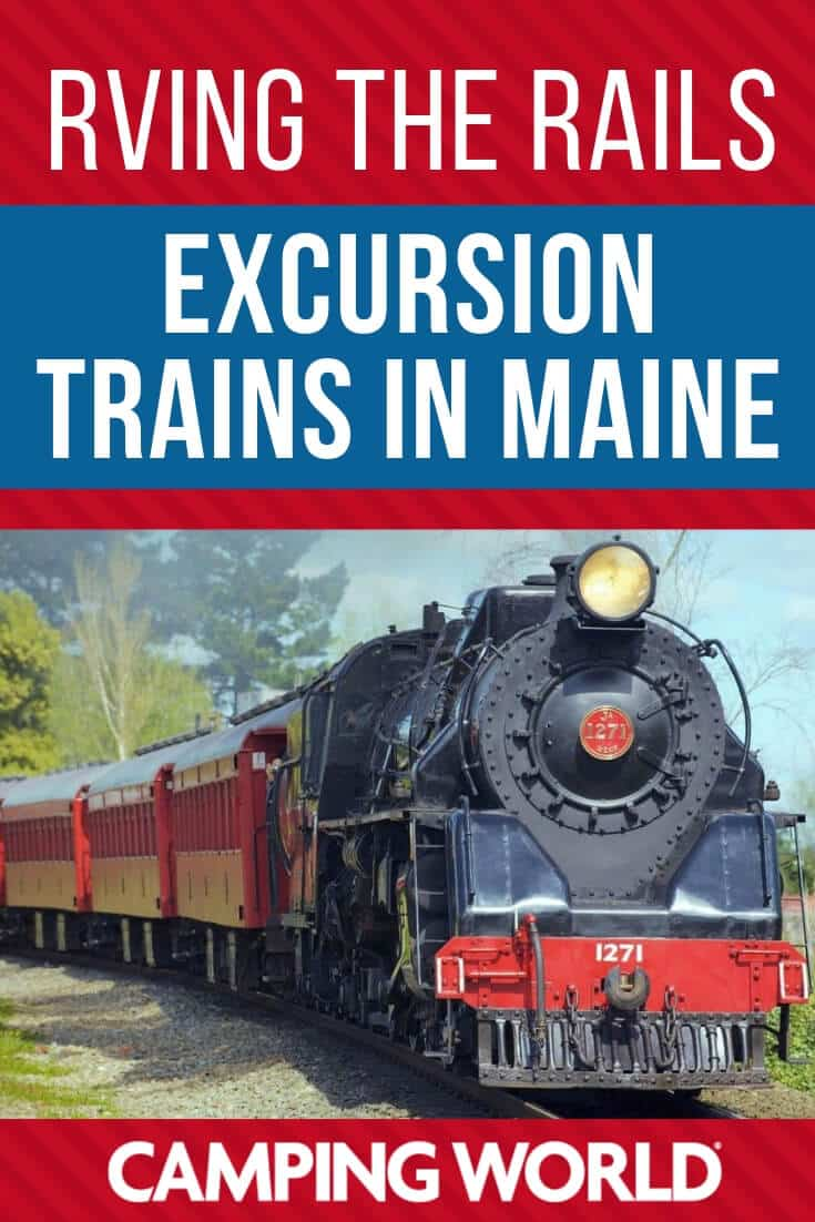 RVing the rails - Excursion trains in Maine