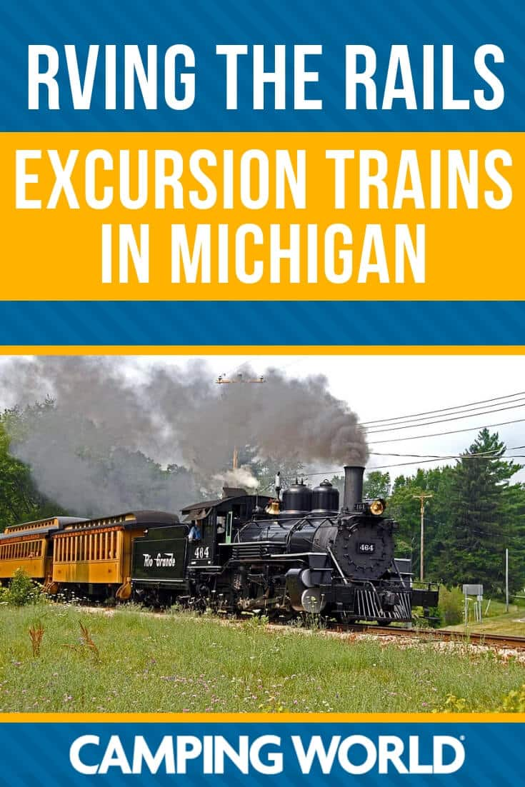 RVing the rails - excursion trains in Michigan