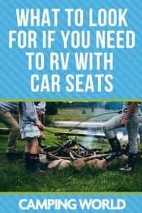 What to look for if you need to RV with car seats