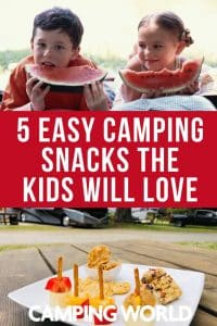 5 easy camping snacks the kids will love