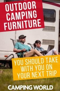 Outdoor camping furniture you should take with you on your next trip