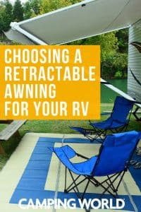 What to think about when choosing a retractable awning for your RV