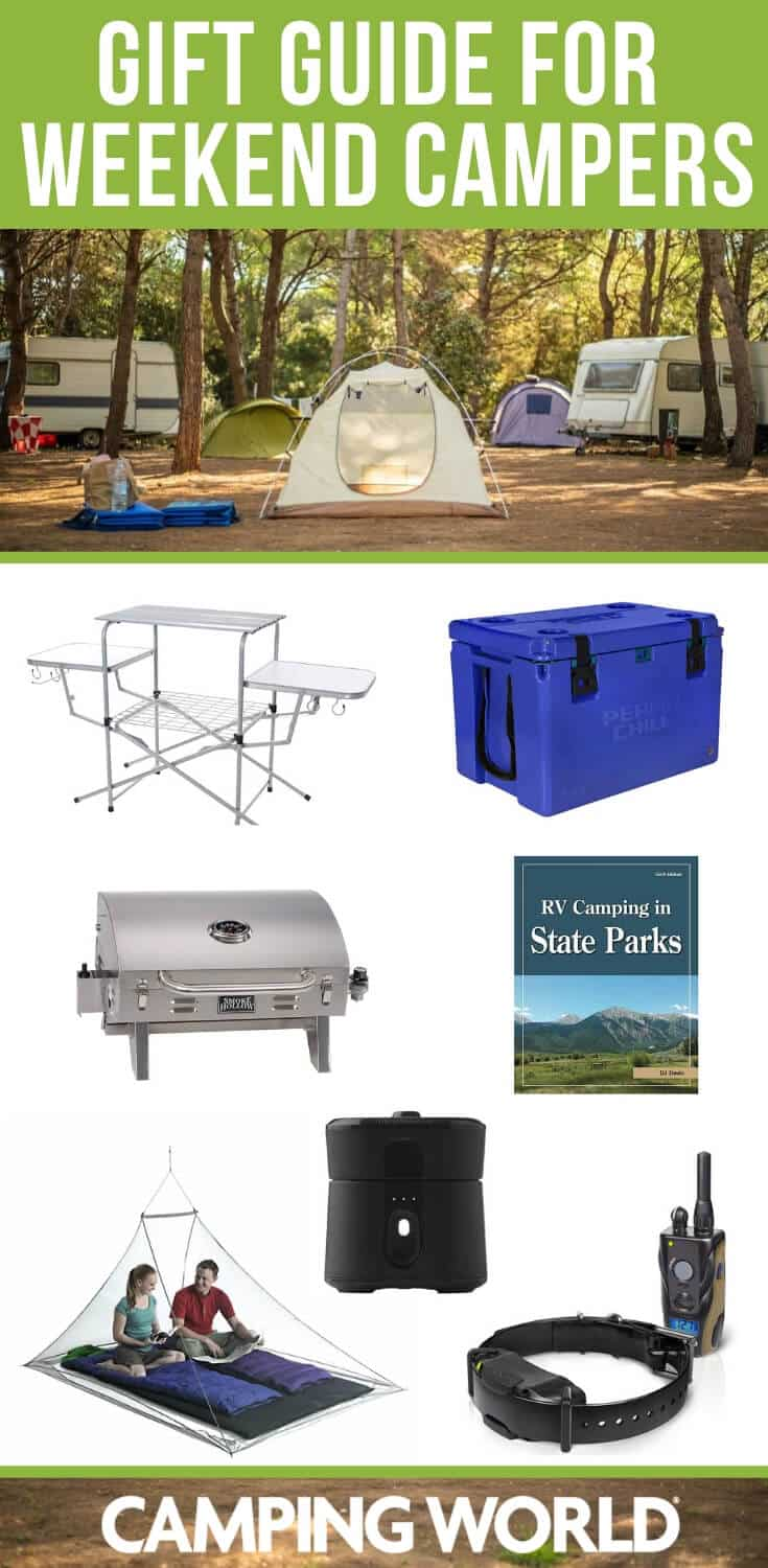 Gift guide for the weekend camper