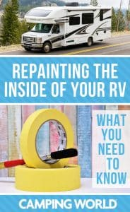What you need to know if you want to paint the inside of your RV