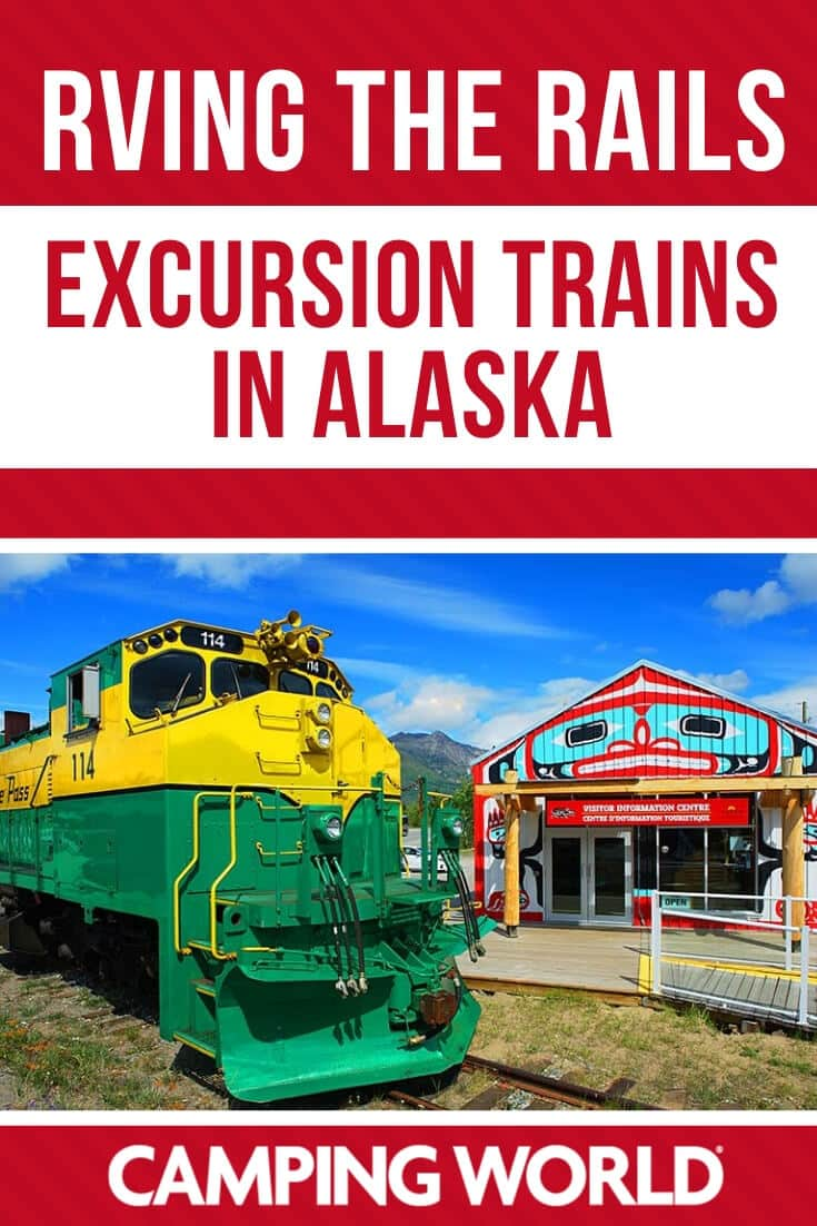 Excursion trains in Alaska
