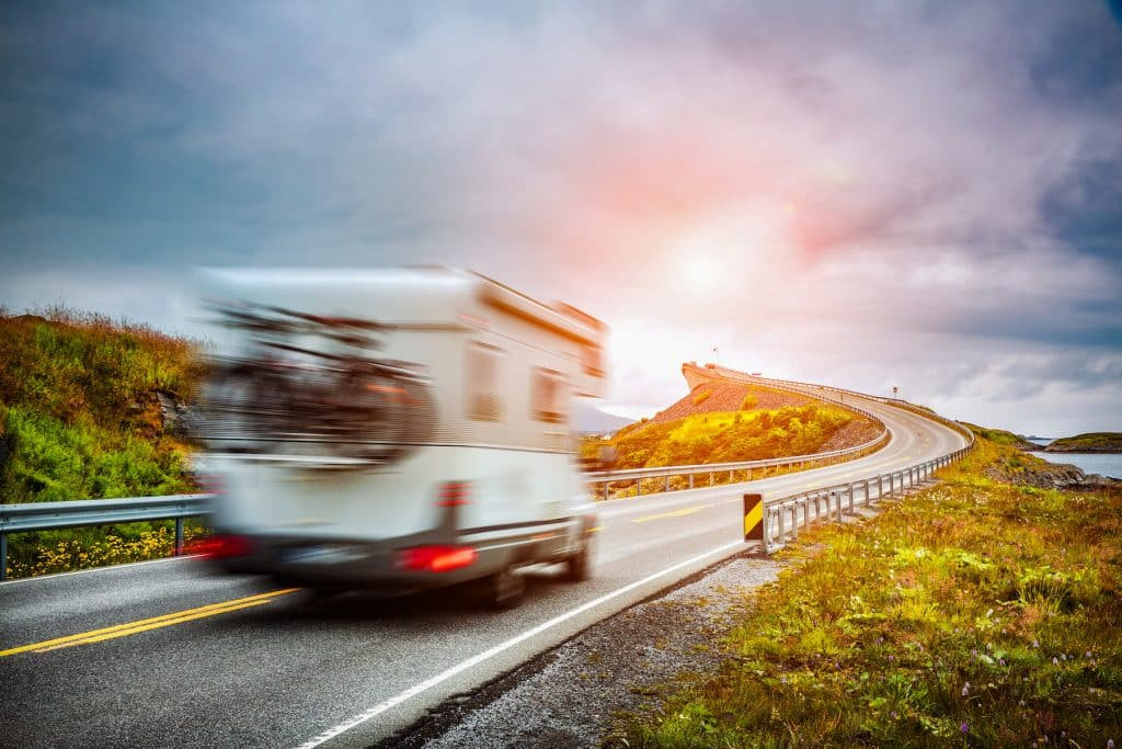 large RV road rules