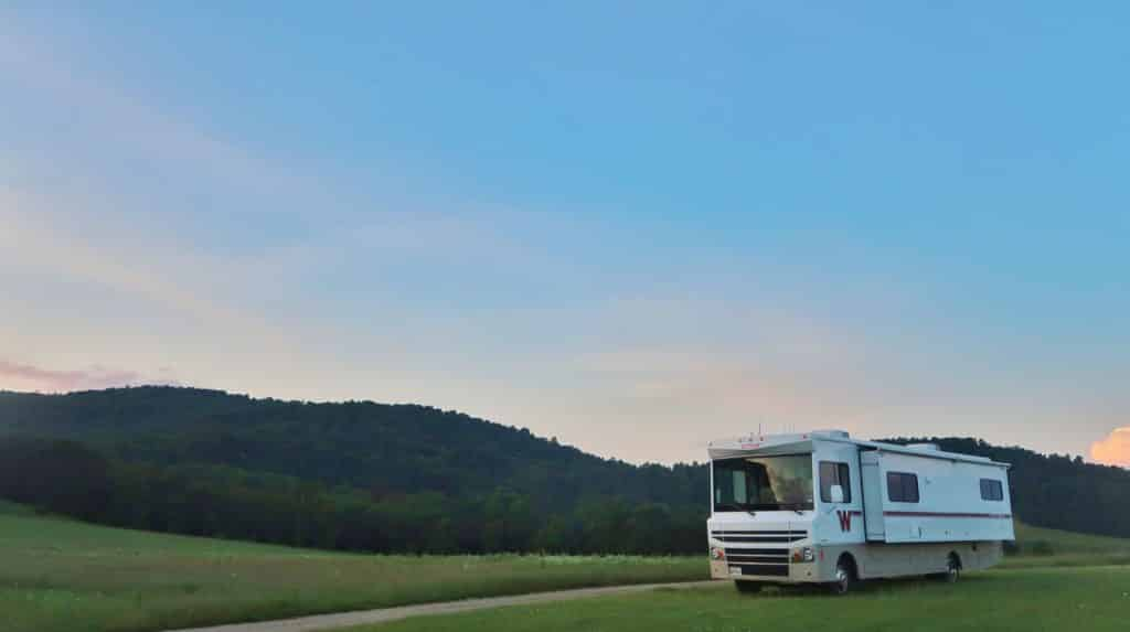 rv boondocking travel