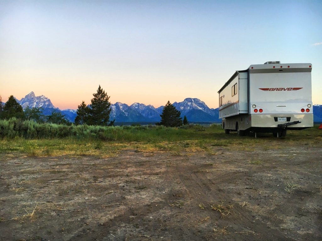 rv grand teton national park