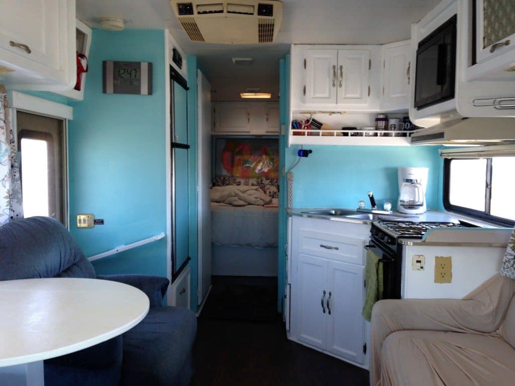 inside a used rv