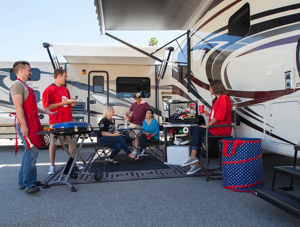 tailgating in an rv