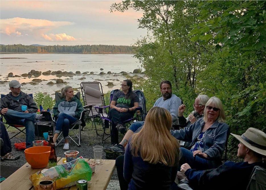 campground friends bar harbor maine