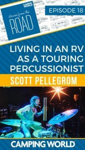 Living in an RV as a Touring Percussionist - Scott Pellegrom