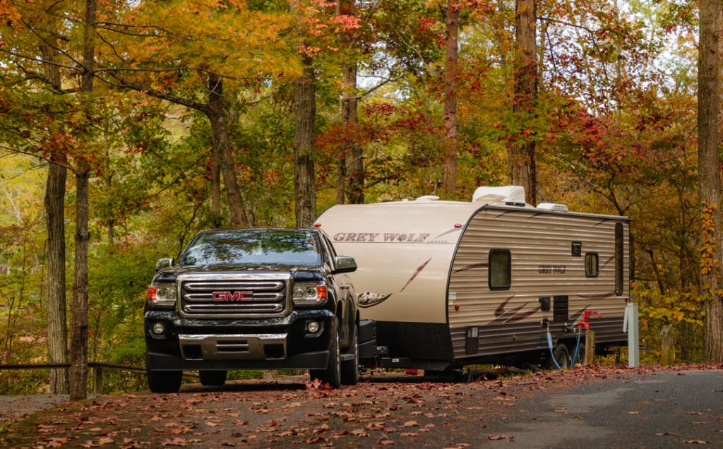 campgrounds with full hookups