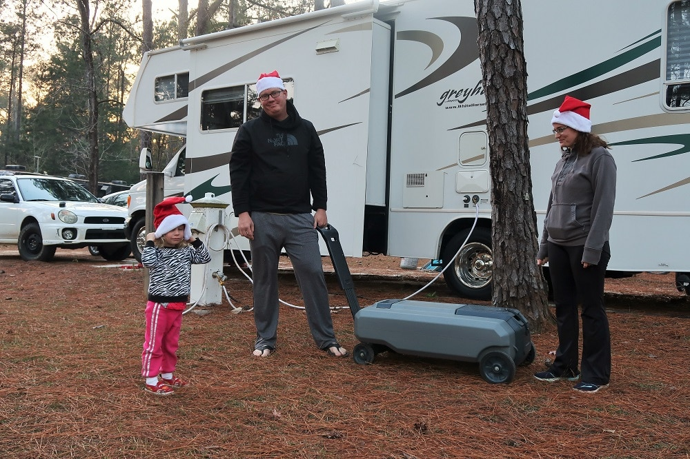 RVing with Kids — helping around the RV