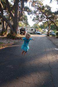 RVing with Kids — running wild