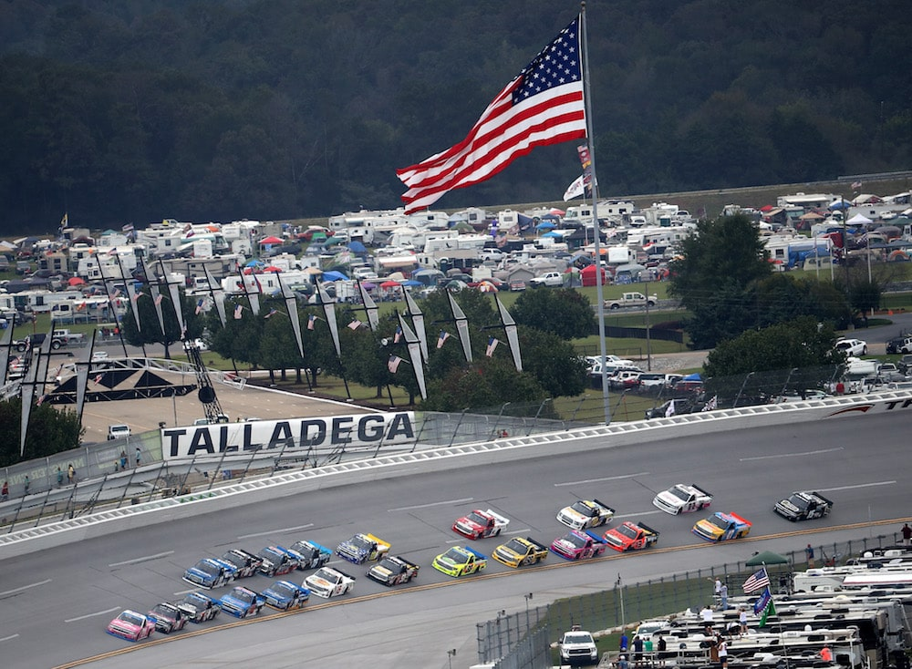 RVing at Talladega