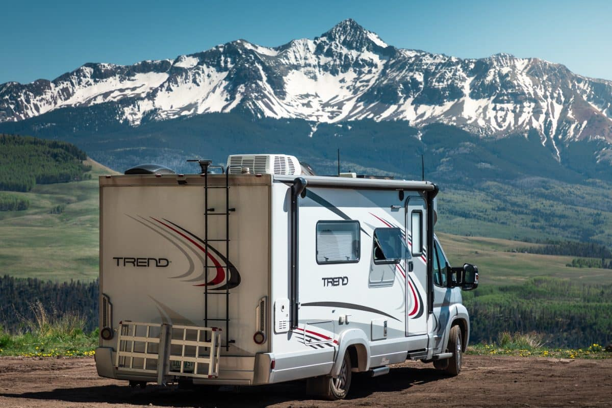 Some boondocking spots come with great views all to yourself!