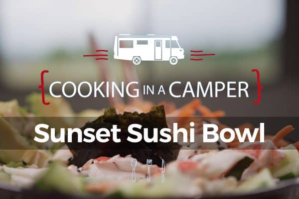 Sunset Sushi Bowl