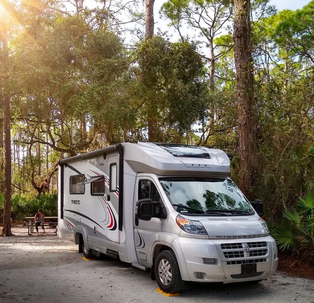 Lake Kissimmee State Park's shady campsites will have your RV nestled in Florida's natural beauty.