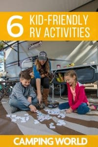 6 kid friendly RV activities