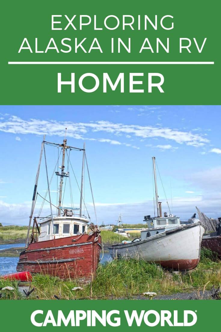 Exploring Homer, Alaska in an RV