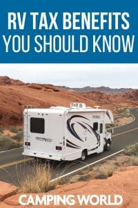 RV tax benefits