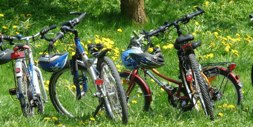 One of the advantages of traveling by RV is that you can bring some of your toys with you. Don't forget to bring along your own bikes (and locks), kayaks, and games.