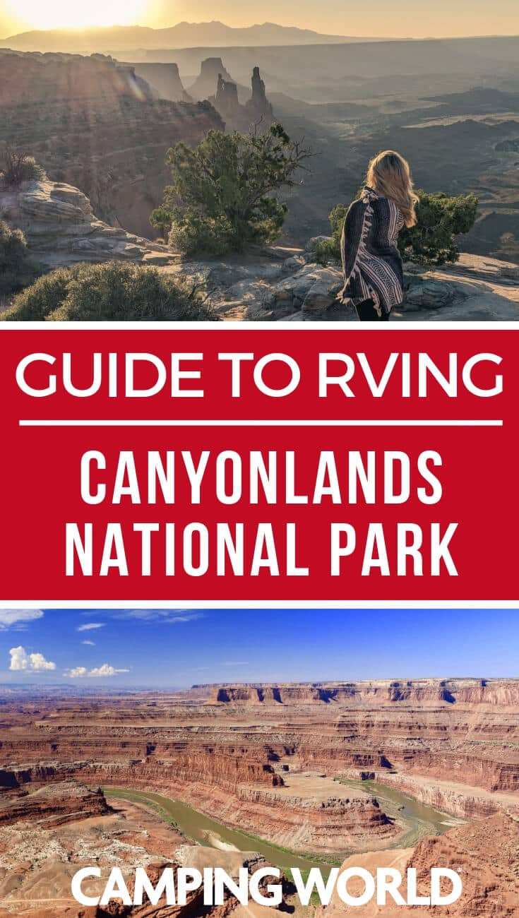 Camping World's guide to Canyonland's National Park
