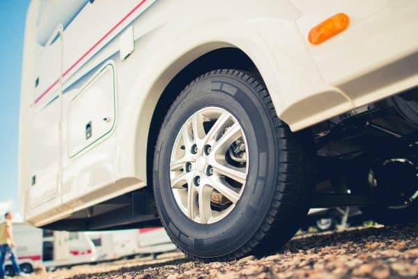 New Tires For RV Camper Van
