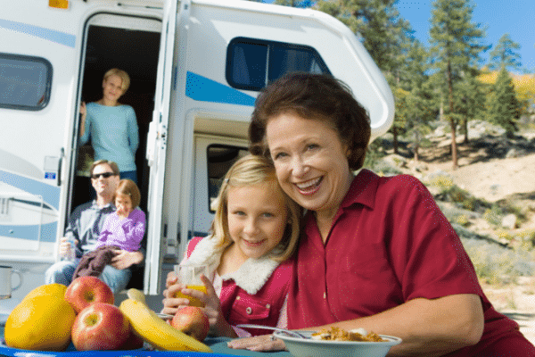 Ready to share your love of camping and RV travel with your children or grandchildren? If you are considering a family RV vacation this year, here are some simple tips to make the camping trip enjoyable for the whole family.