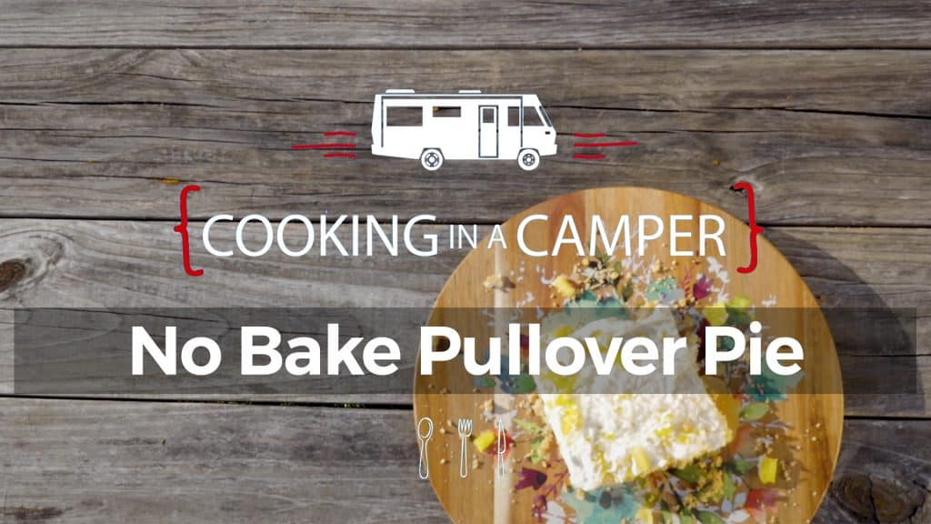 No Bake Pineapple Pullover Pie