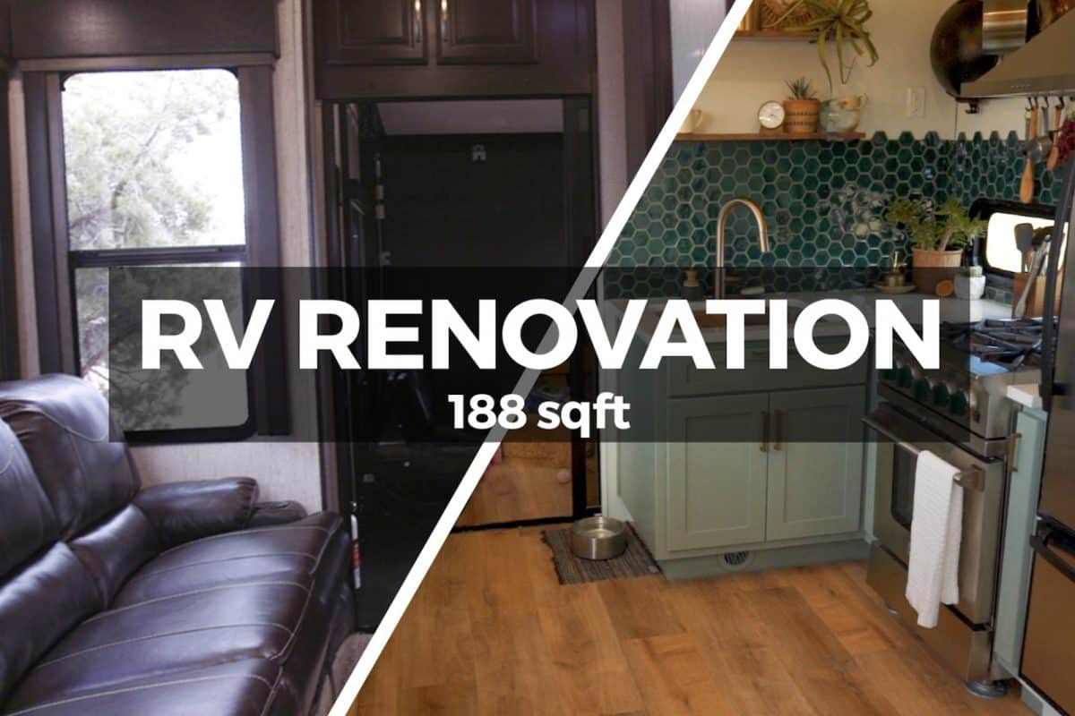 Kevin and Mandy of 188sqft renovation