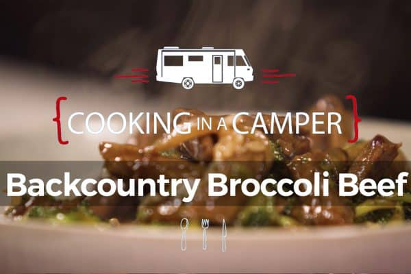 Backcountry Broccoli Beef