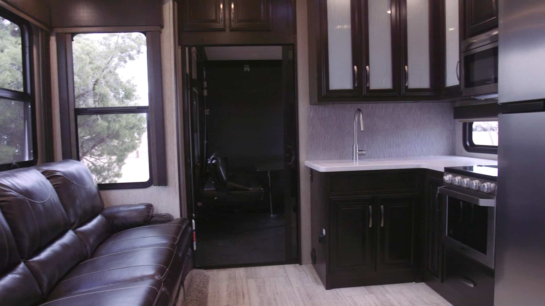 RV living room before