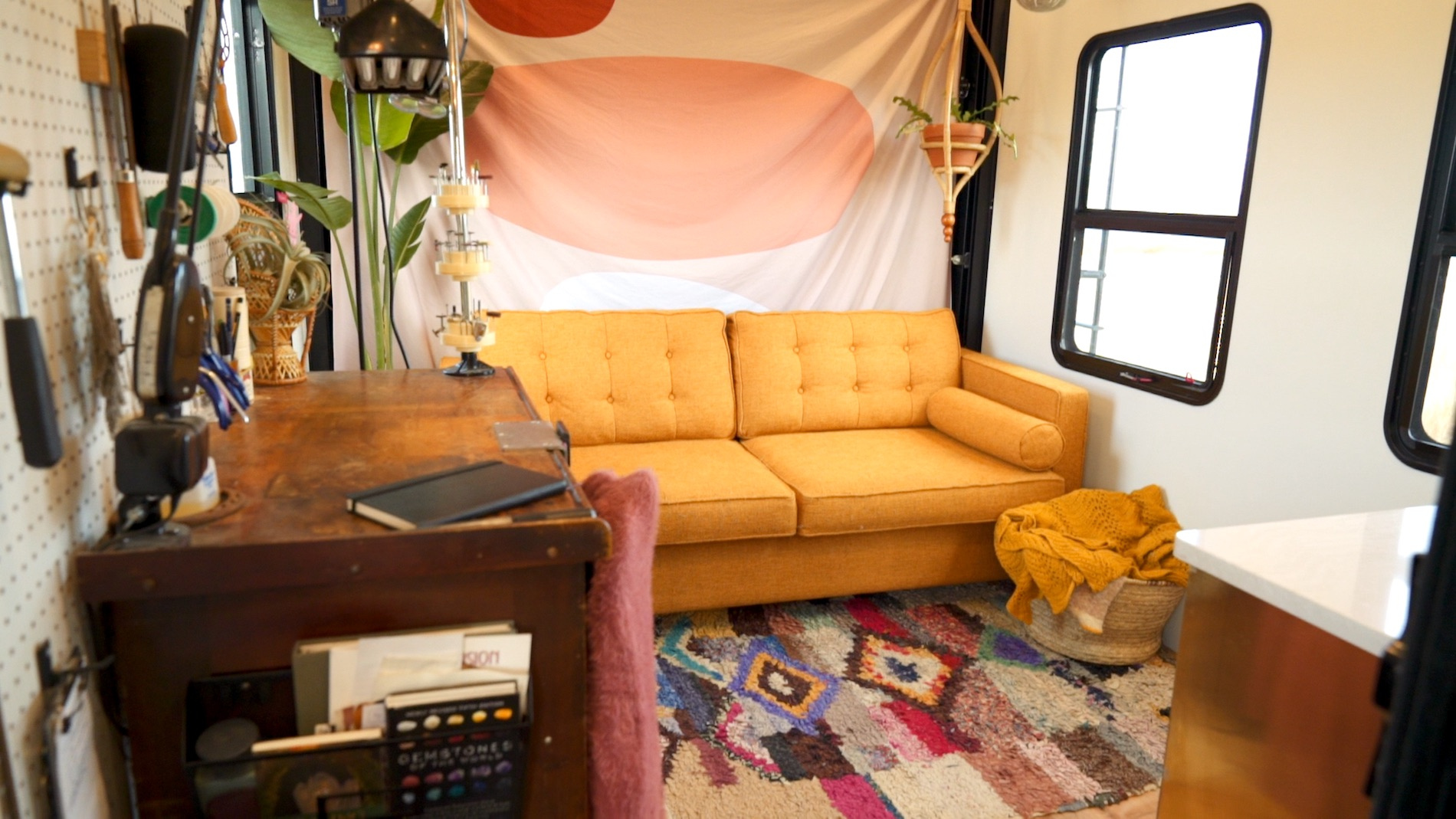 Watch Kevin and Mandy of 188sqft Renovate a New RV Into
