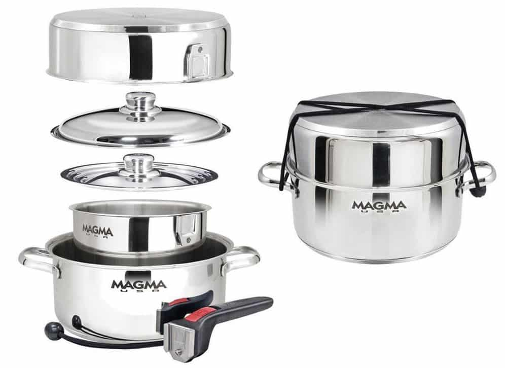 Magma pots and pans