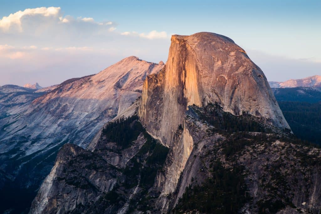 glacier point and half dome
